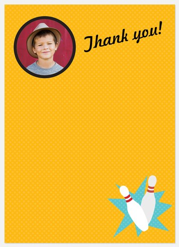 On a Roll Thank You Cards