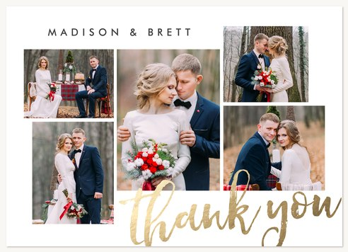 Wedding Thank You Cards, Thanks Multiplied Design