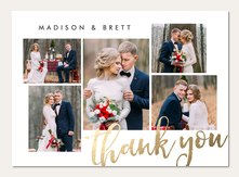 Wedding Thank You Cards Notes Simply