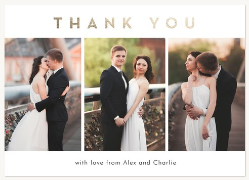 Thank You Cards , Elegant Thank You Design