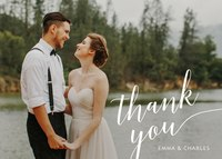 Perfectly Scripted -  Wedding Thank You Notes