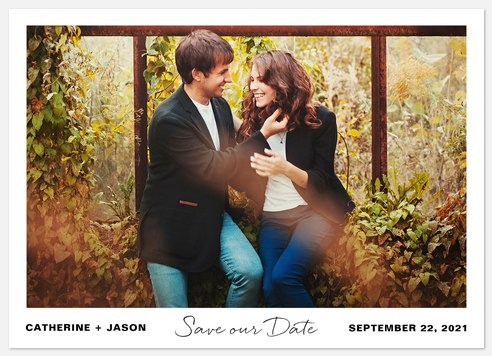 Beautiful Destiny  Save the Date Photo Cards