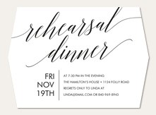 Rehearsal Dinner Invitations Simply To Impress