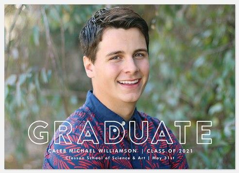 Simply Announced Graduation Cards
