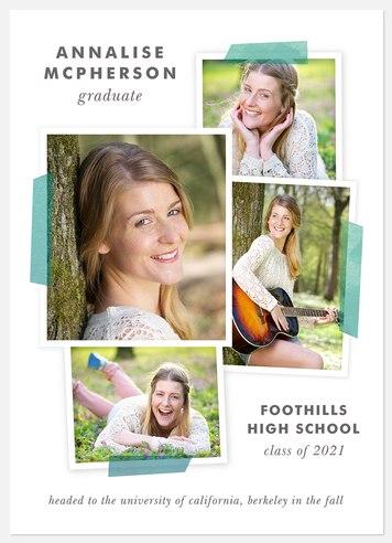 Scrapbook Collage Graduation Cards