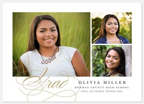 Elegant Grad Graduation Cards