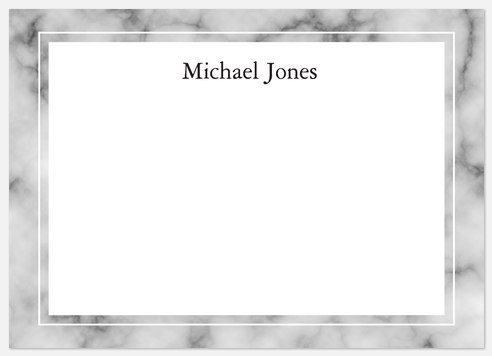 Formal Script Thank You Cards
