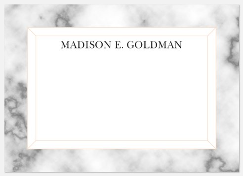 Marble Accolade Thank You Cards