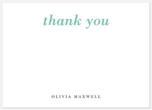 Delightful Appreciation Thank You Cards