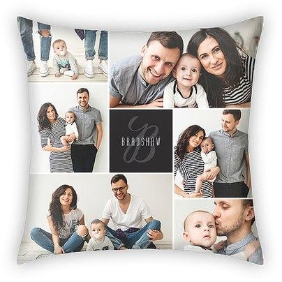 Stylish Monogram Custom Pillows