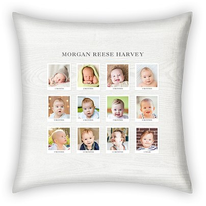 First Year Custom Pillows