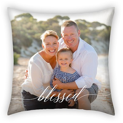 Scripted Blessing Custom Pillows