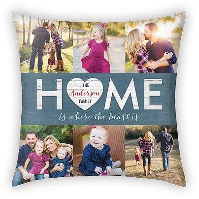 Homespun Heart Custom Pillows