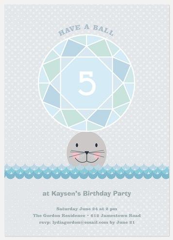 Have A Ball  Kids' Birthday Invitations