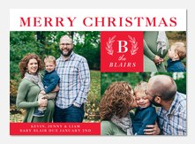 Holiday Medley - Holiday Birth Announcements