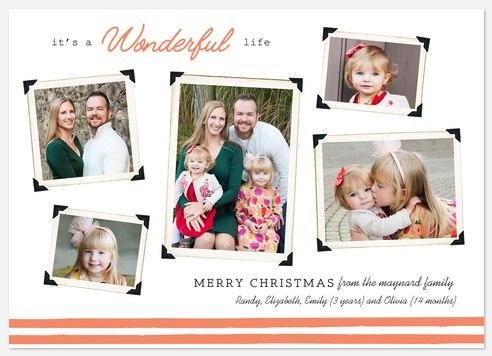Wonderous Snapshots Holiday Photo Cards