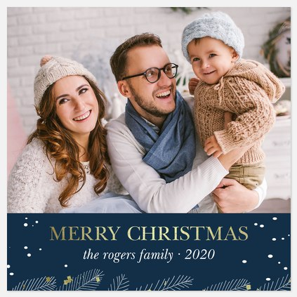 Night Before Christmas Holiday Photo Cards