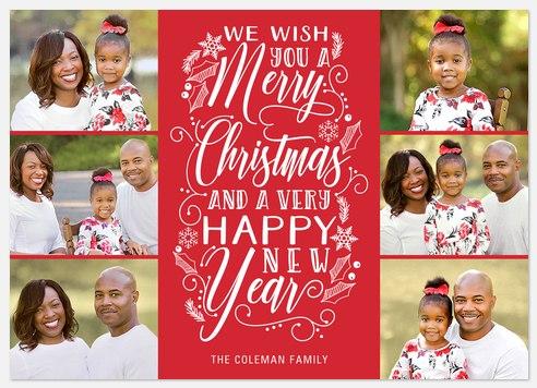 Christmas Drawings Holiday Photo Cards