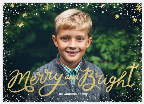Stars & Skies Holiday Photo Cards