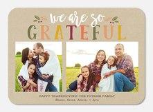 Thanksgiving Cards - Fall Gratefulness