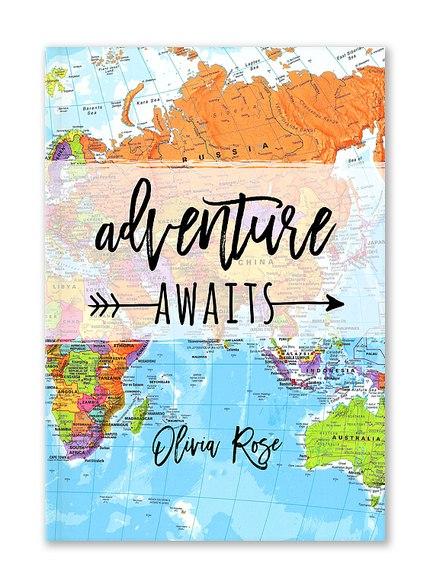 Custom Journals, Adventure Awaits Design