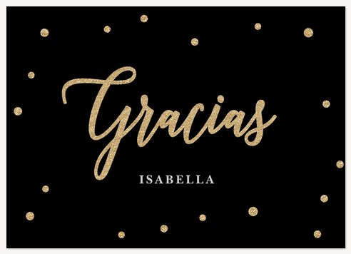 Quinceañera Thank You Cards, So Posh Design