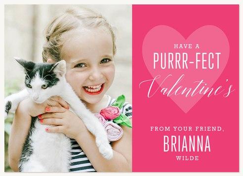 Purrfect Valentine Valentines Cards
