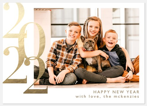 Grand Year Holiday Photo Cards