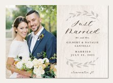 Wedding Announcements Simply To Impress