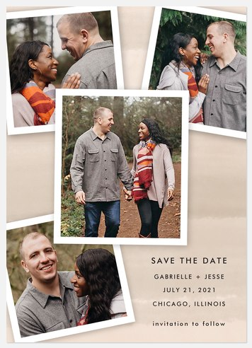 Picture Perfect Save the Date Photo Cards
