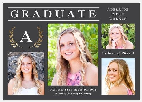 Honorable Laurel Graduation Cards