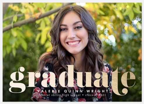 Bold Impression Graduation Cards