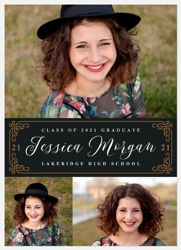 Ornate Frame Graduation Cards