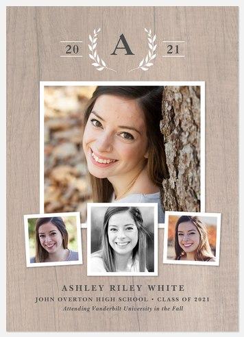 Farmhouse Laurels Graduation Cards