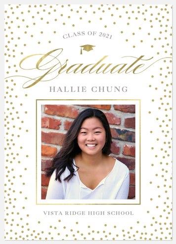 Sparkling Celebration Graduation Cards