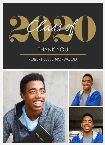 Notable Grad Thank You Cards