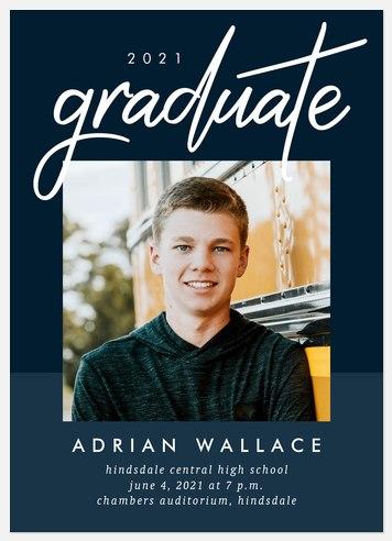 Bold Success Graduation Cards