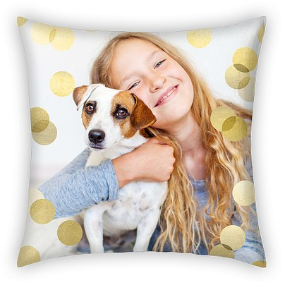 Confetti Dots Custom Pillows