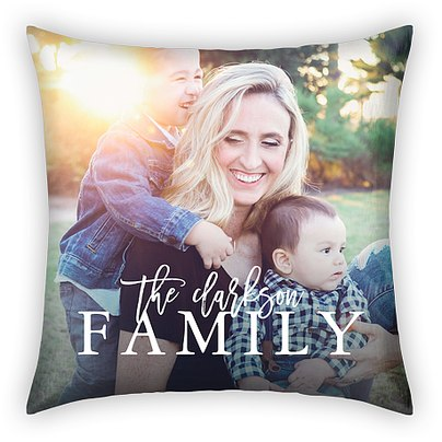 Family Name Custom Pillows