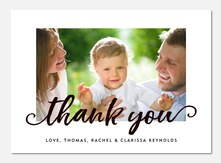 baby thank you cards photoaffections