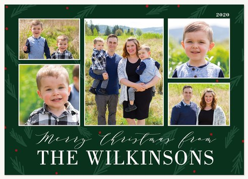 O Tannenbaum Personalized Holiday Cards