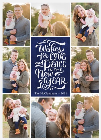 Grid Celebration  Holiday Photo Cards