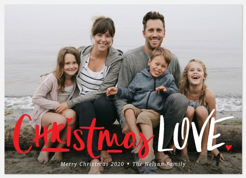 All the Love Holiday Photo Cards