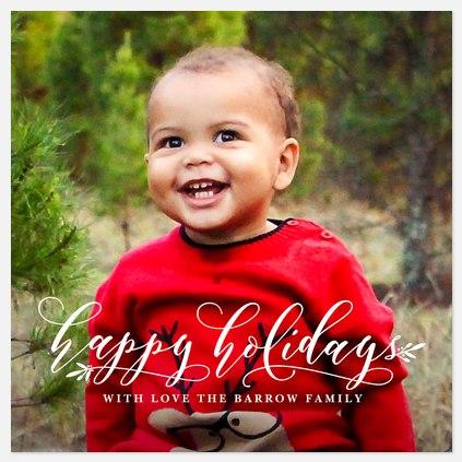 Holiday Adornment Holiday Photo Cards