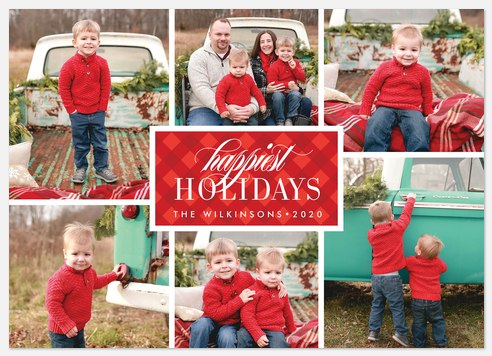 Holiday Cabin Holiday Photo Cards