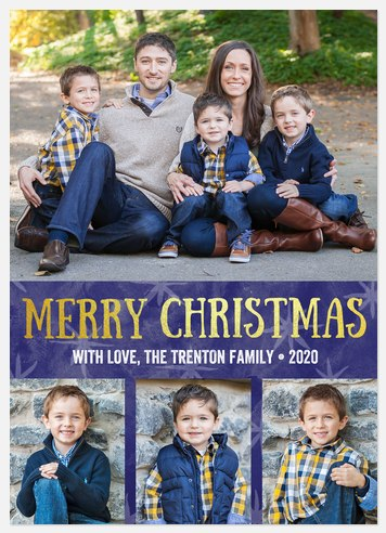 Christmas Eve Holiday Photo Cards