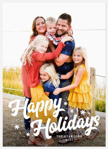 Frosted Fun Holiday Photo Cards