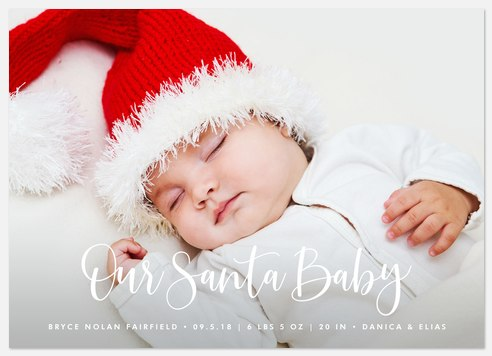 Our Santa Baby