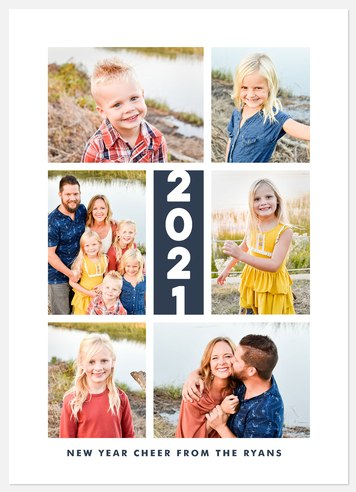 Memorable Year Holiday Photo Cards