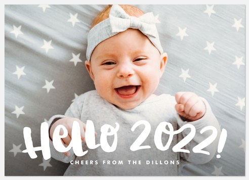 Greet the Year Holiday Photo Cards